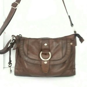 FOSSIL LEATHER BAG!
